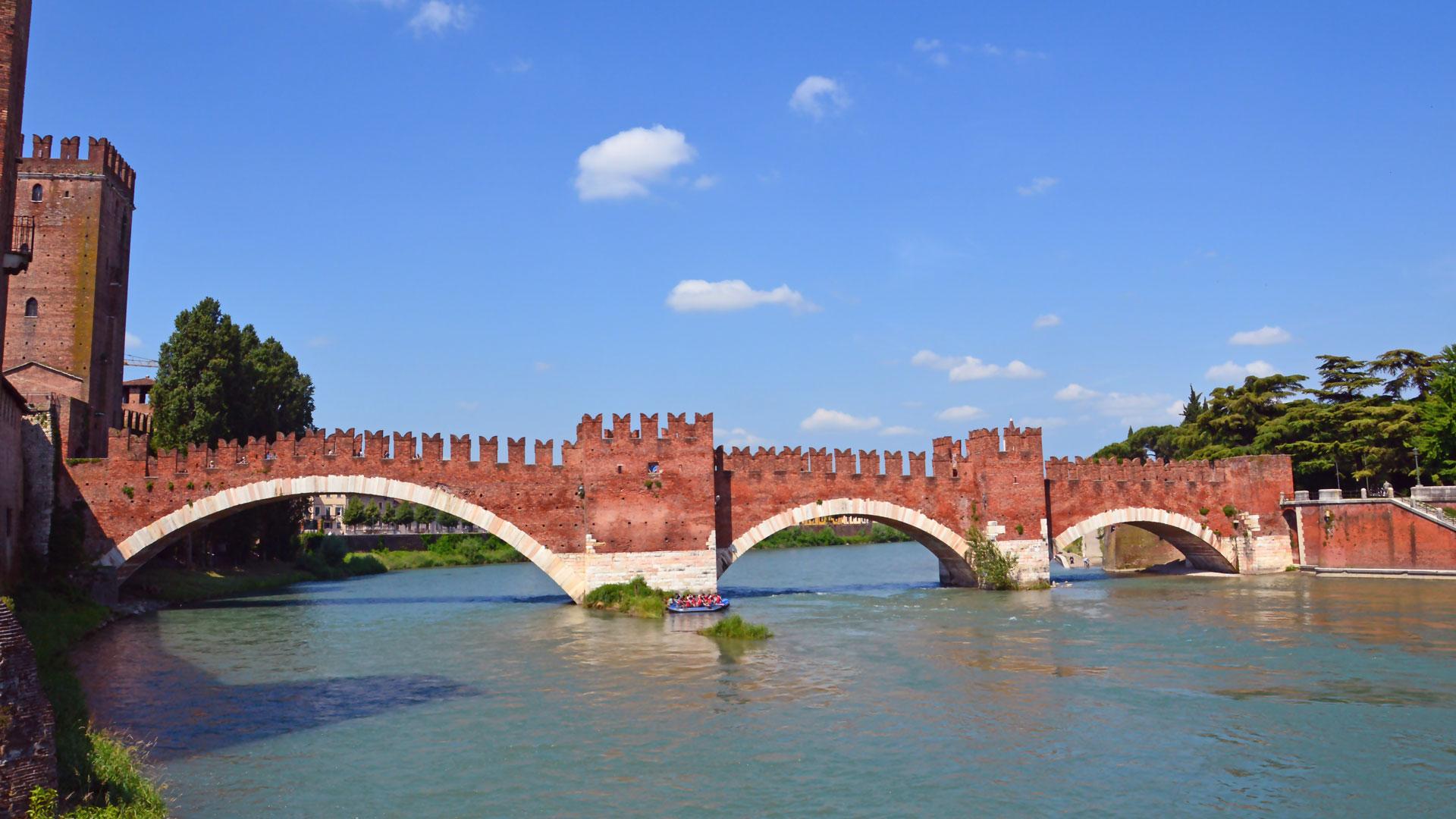 Castel Vecchio e Ponte Scaligero a Verona