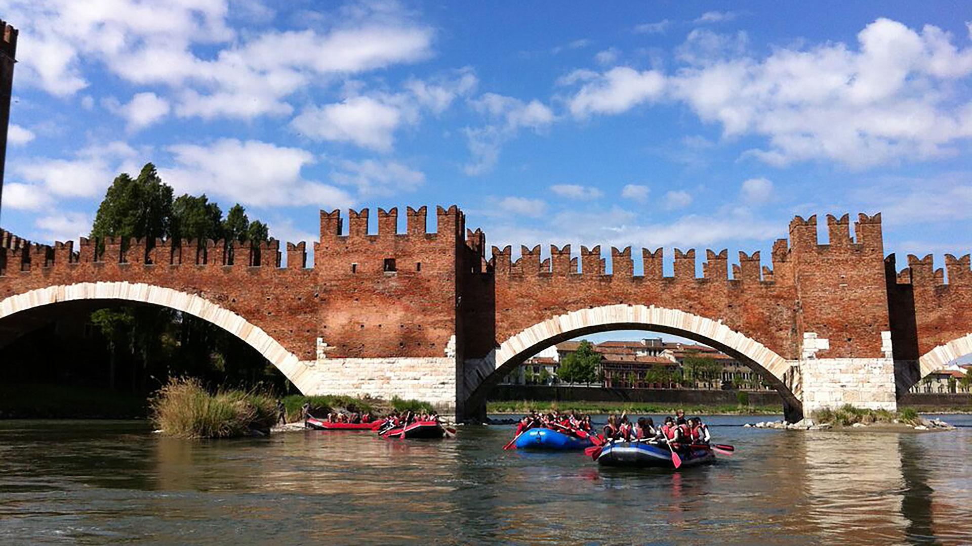 Ponte Scaligero a Verona